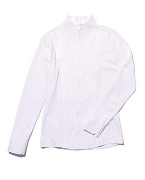 【MEN'S】ピエゴリーネスタンドカラー長袖シャツ