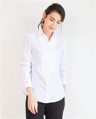 ピエゴリーネブザム切替え長袖シャツ
