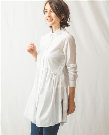 長袖チュニックシャツ