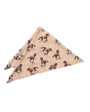 ホースプリントスカーフ