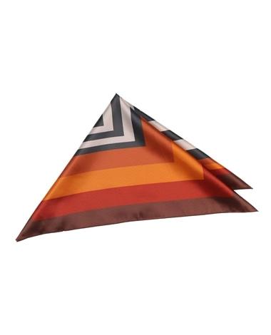 スクエアプリントスカーフ