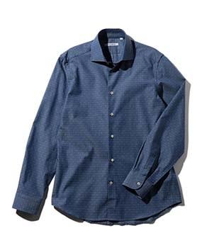 【MEN'S】コットンドビー長袖シャツ