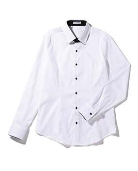 【Men's】ドビー織長袖シャツ